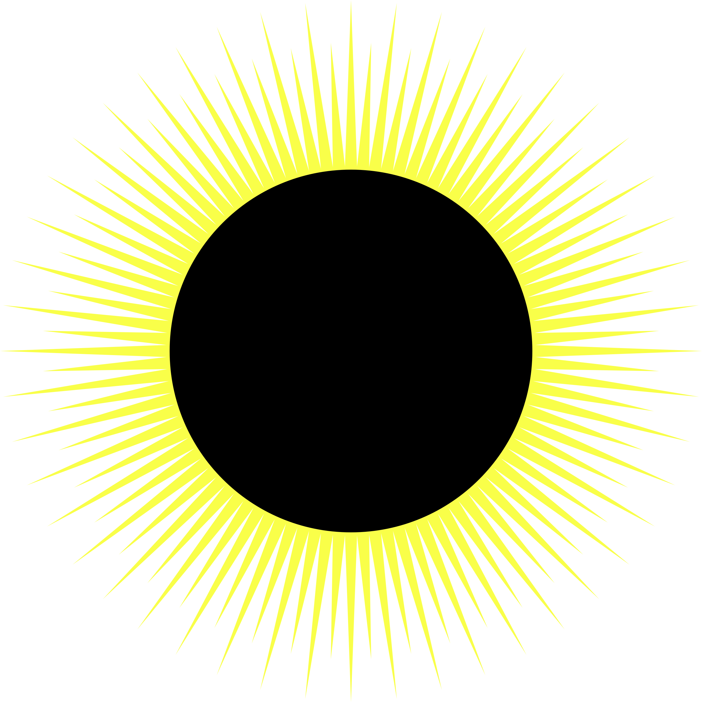 Solar sun clipart vector royalty free library Clipart - Solar Eclipse vector royalty free library