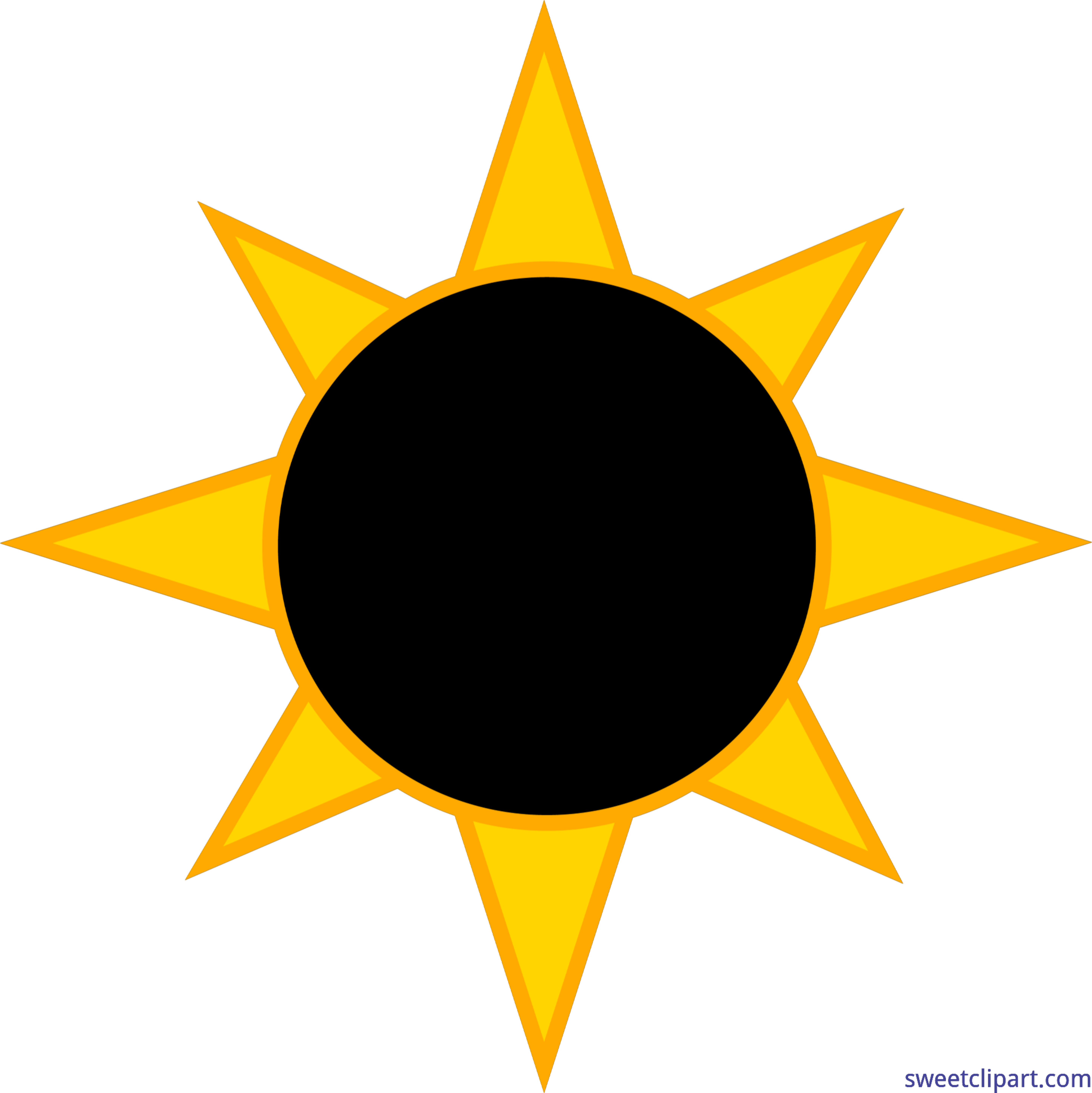 Solar sun clipart jpg free stock Clipart Eclipse at GetDrawings.com | Free for personal use Clipart ... jpg free stock