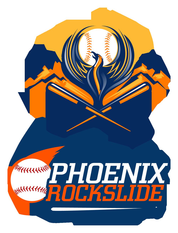 Edgy baseball field clipart clip royalty free library Phoenix Rockslide. #baseball logo design.   Sports Art   Pinterest ... clip royalty free library