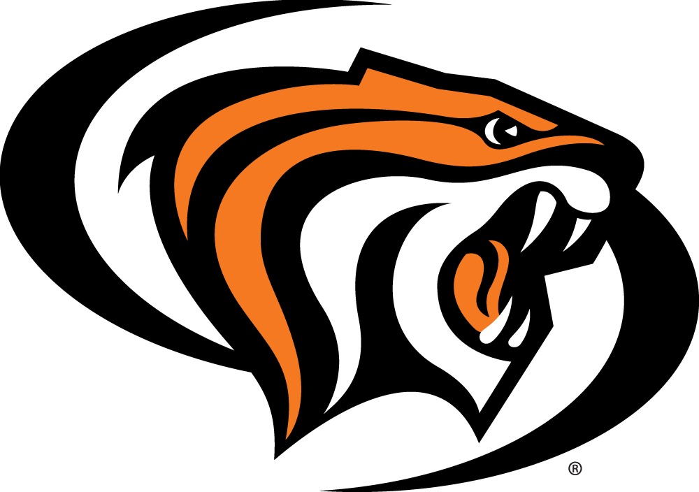 Edgy baseball field clipart. Pacific tigers ncaa pinterest