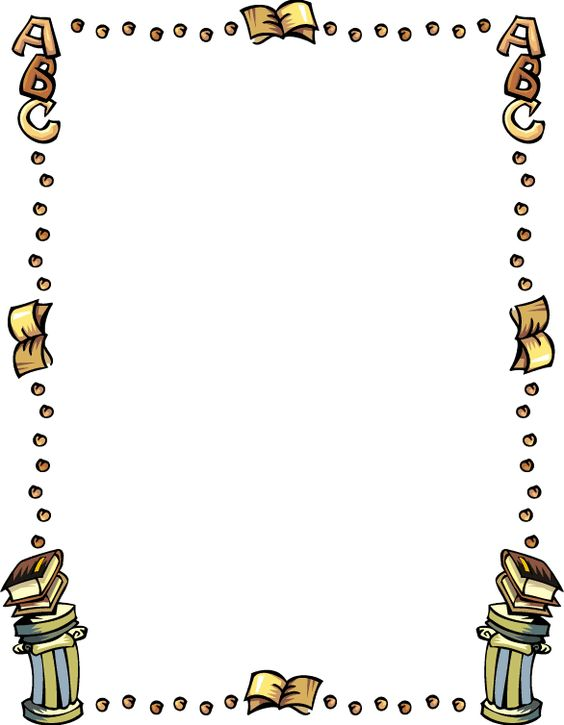 Book Border Clip Art | Free Education Clipart 081410» ClipArt ... image transparent library