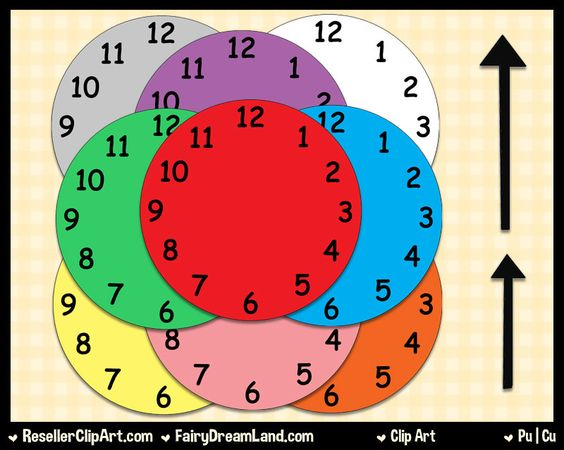 Educational clipart for commercial use clipart library Telling Time Clip Art - Commercial Use, Digital Image, Png Clipart ... clipart library
