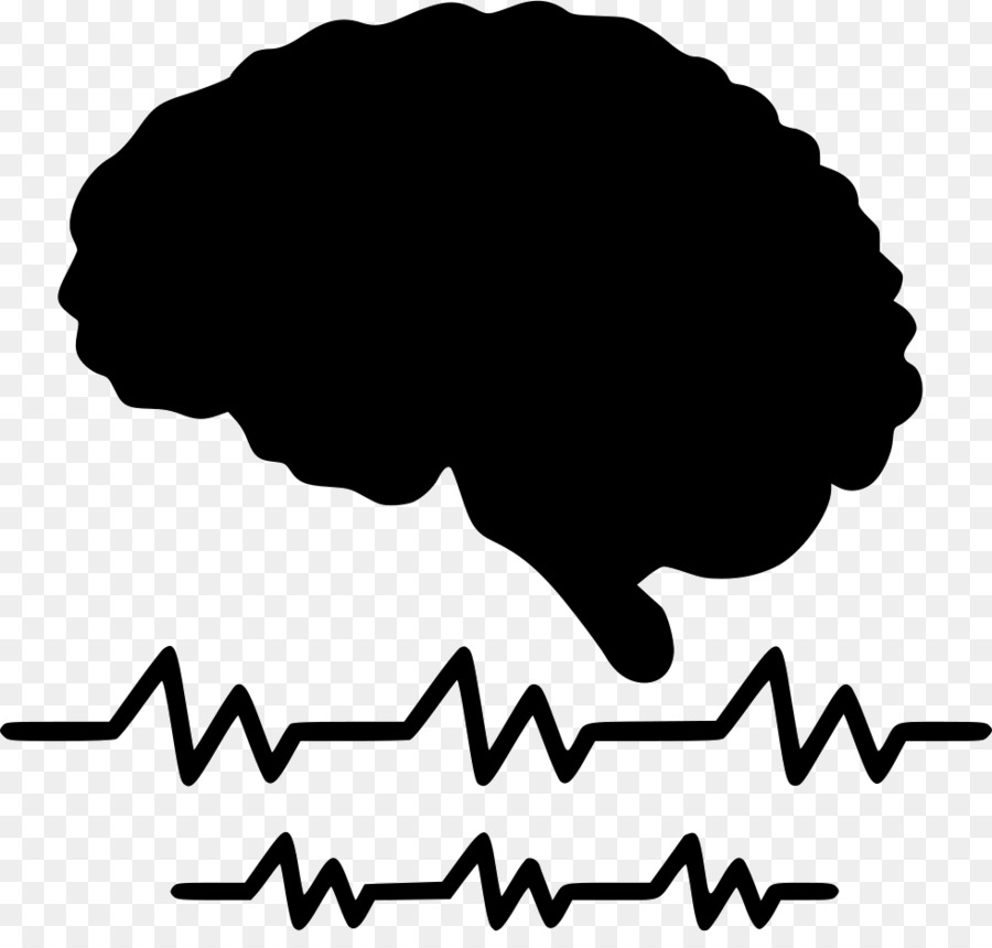 Eeg clipart clip art black and white download Cartoon Brain png download - 980*920 - Free Transparent ... clip art black and white download