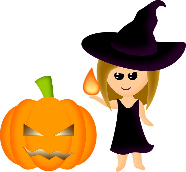Pumpkin witch hat clipart banner royalty free Halloween Witch Pictures (52+) banner royalty free