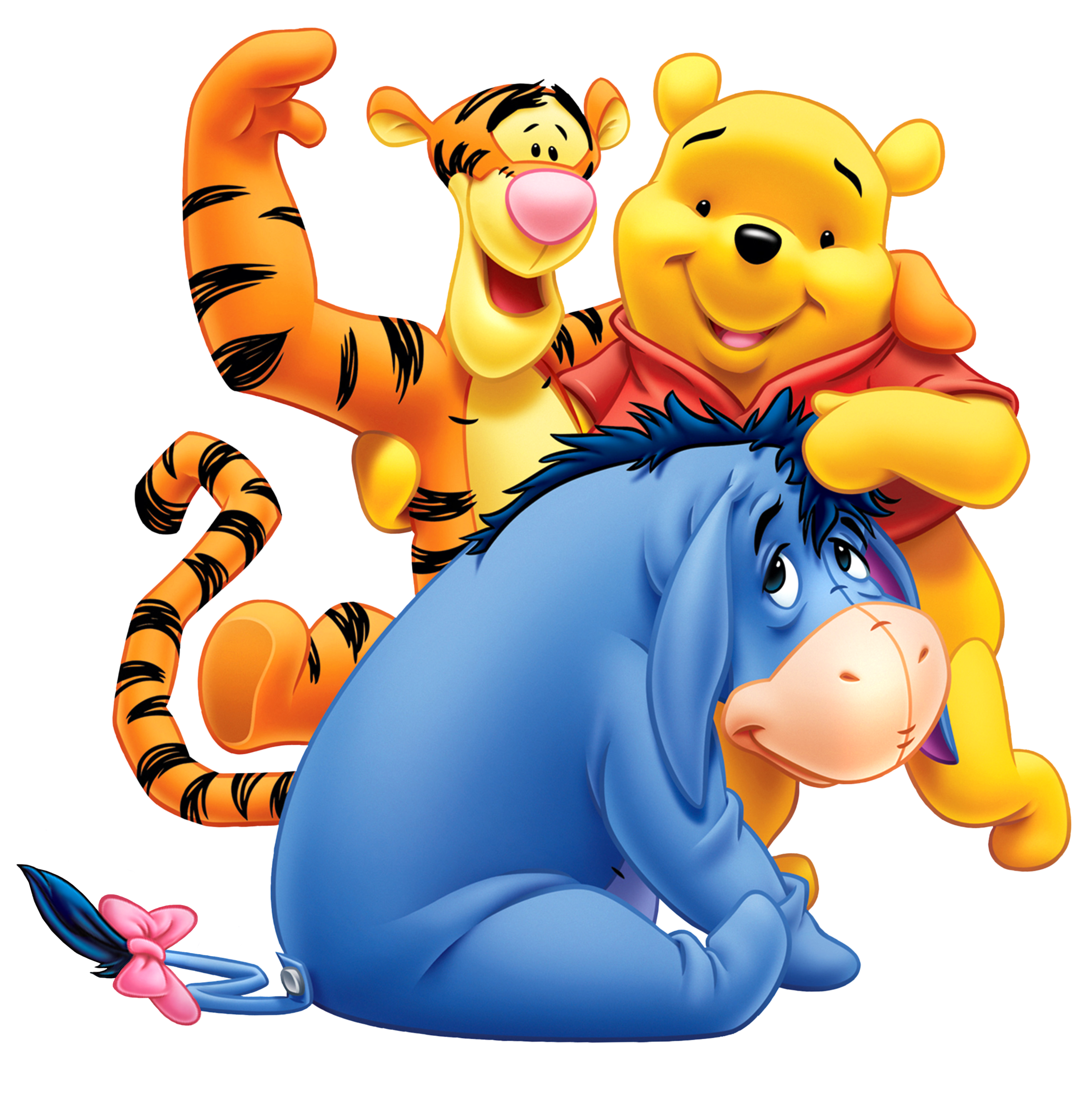 Winnie the pooh halloween clipart clip royalty free library Winnie the Pooh Eeyore and Tiger Transparent PNG Clip Art Image ... clip royalty free library
