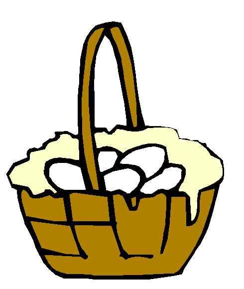 Egg basket clipart clipart free stock Egg basket clipart - ClipartFest clipart free stock