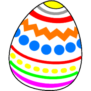 Egg easter clipart picture black and white Easter Egg Clipart - Clipart Kid picture black and white