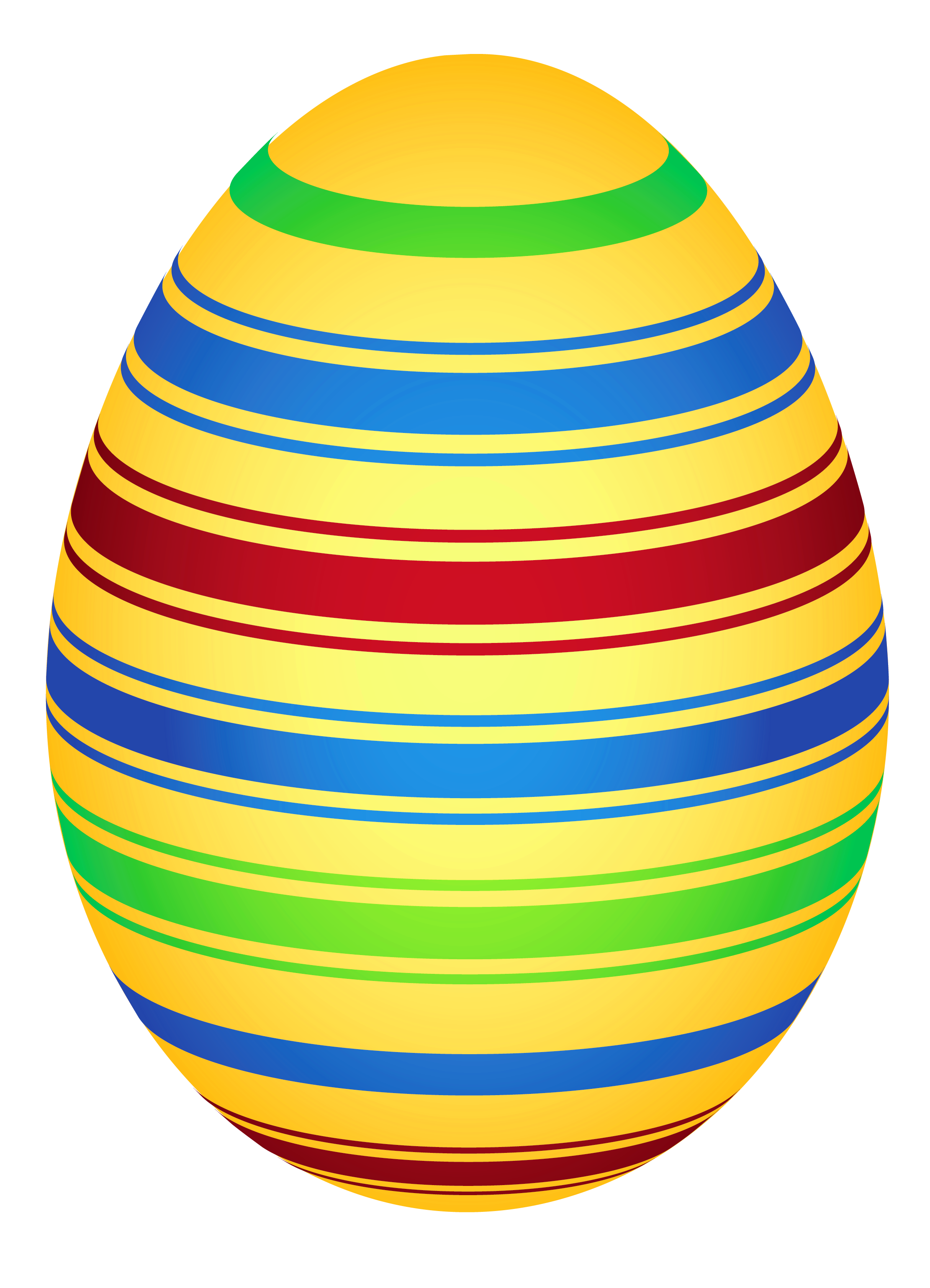 Yellow Colorful Easter Egg PNG Clipairt Picture | Wielkanoc ... banner free download