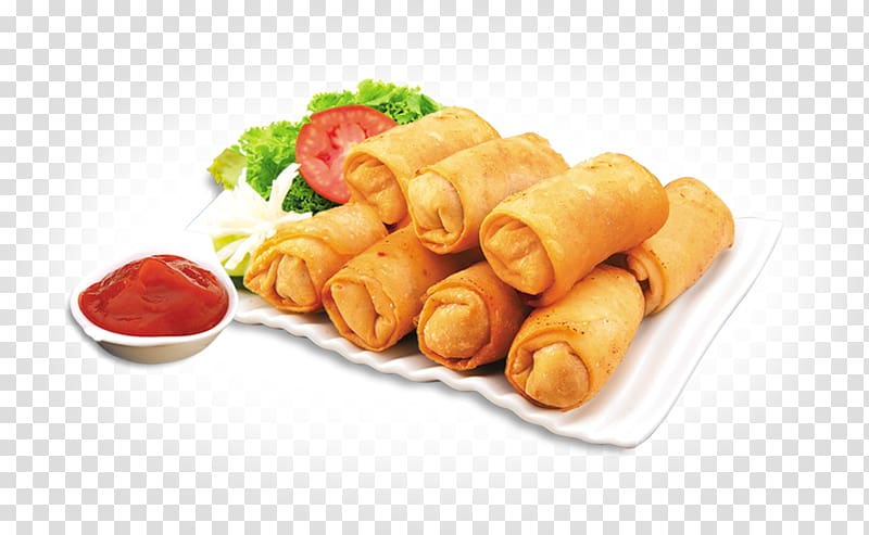Egg roll clipart freeuse download Spring rolls on white tissue, Spring roll Egg roll Samosa Stuffing ... freeuse download