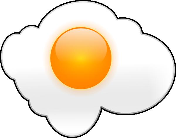 Egg yolk clipart black and white download Egg Clip Art at Clker.com - vector clip art online, royalty free ... black and white download