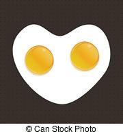 Egg yolk clipart jpg royalty free Two egg yolk Clip Art Vector and Illustration. 87 Two egg yolk ... jpg royalty free