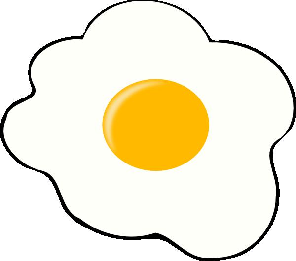 Egg yolk clipart royalty free library Egg Clip Art at Clker.com - vector clip art online, royalty free ... royalty free library