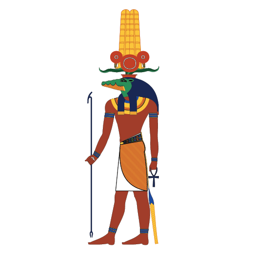 Egypt crocodile clipart png freeuse stock The God: Sobek – Egyptian Witchcraft png freeuse stock