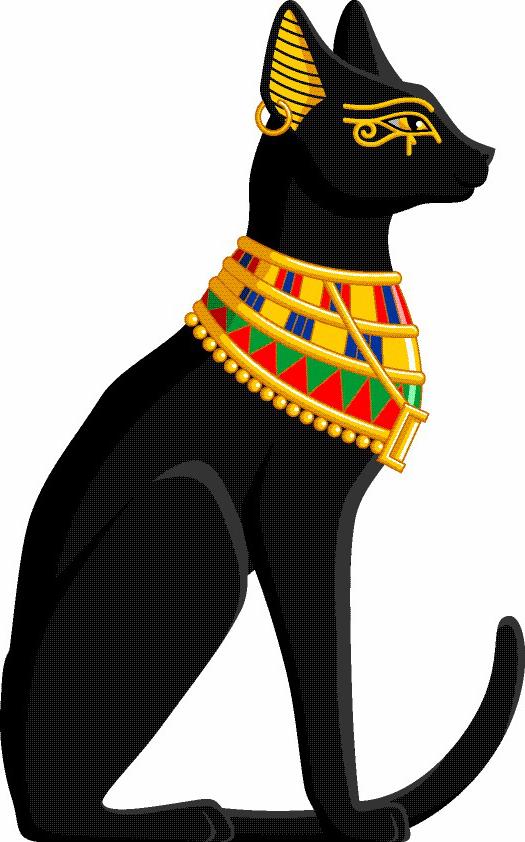 Podobny obraz ka dy. Egyptian cat clipart