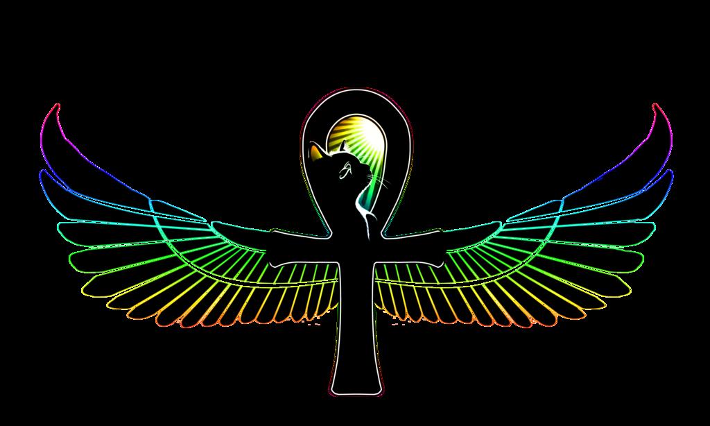 Egyptian cross clipart clip free library Resultado de imagem para bastet open wings   Egyptian   Pinterest ... clip free library