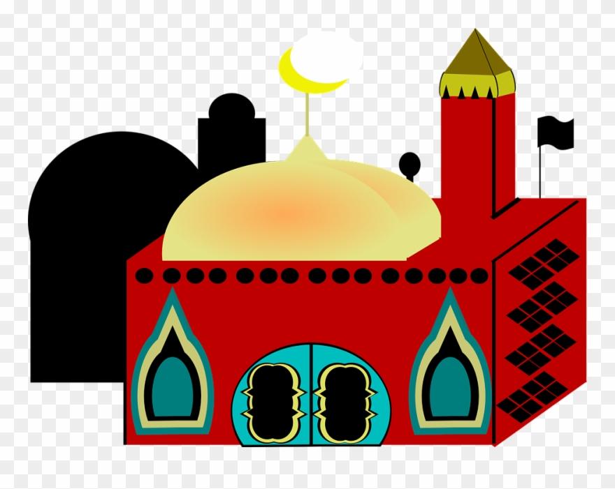 Eid milad un nabi clipart banner black and white stock Mosque Clipart Masid - Eid Milad Un Nabi In Hindi - Png Download ... banner black and white stock