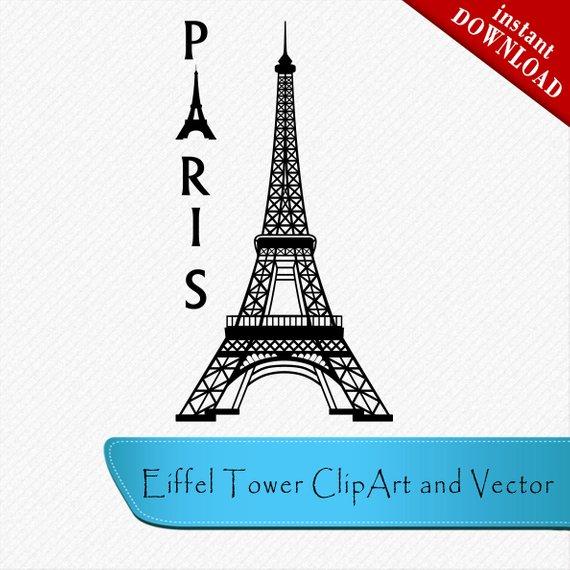 Paris vector clipart