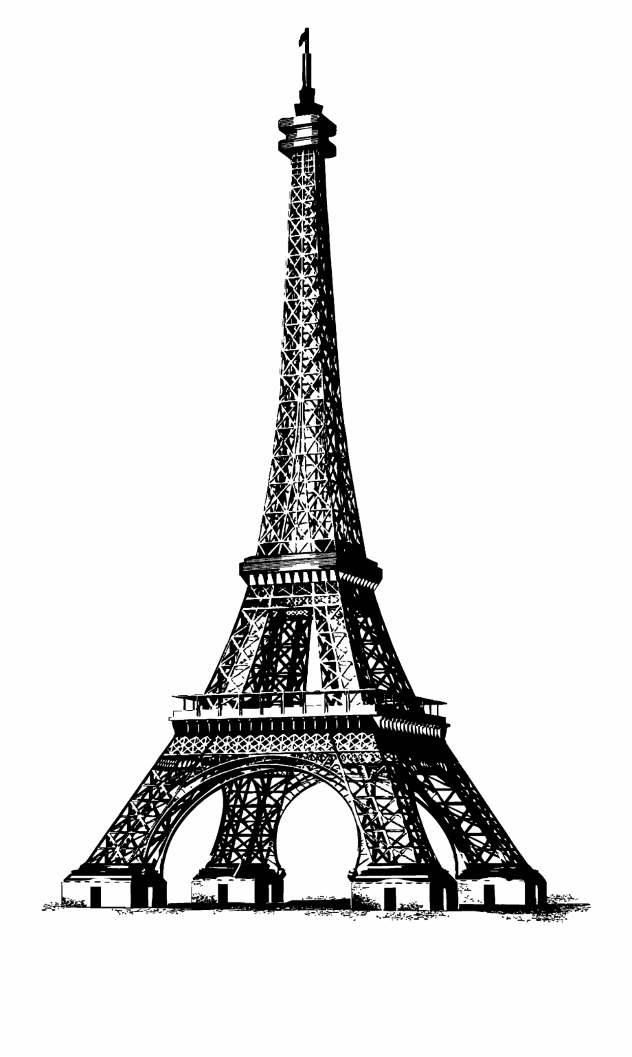 Transparent eiffel tower clipart transparent library Eiffel Tower Free Download Clip Art Free Clip Art - Transparent ... transparent library