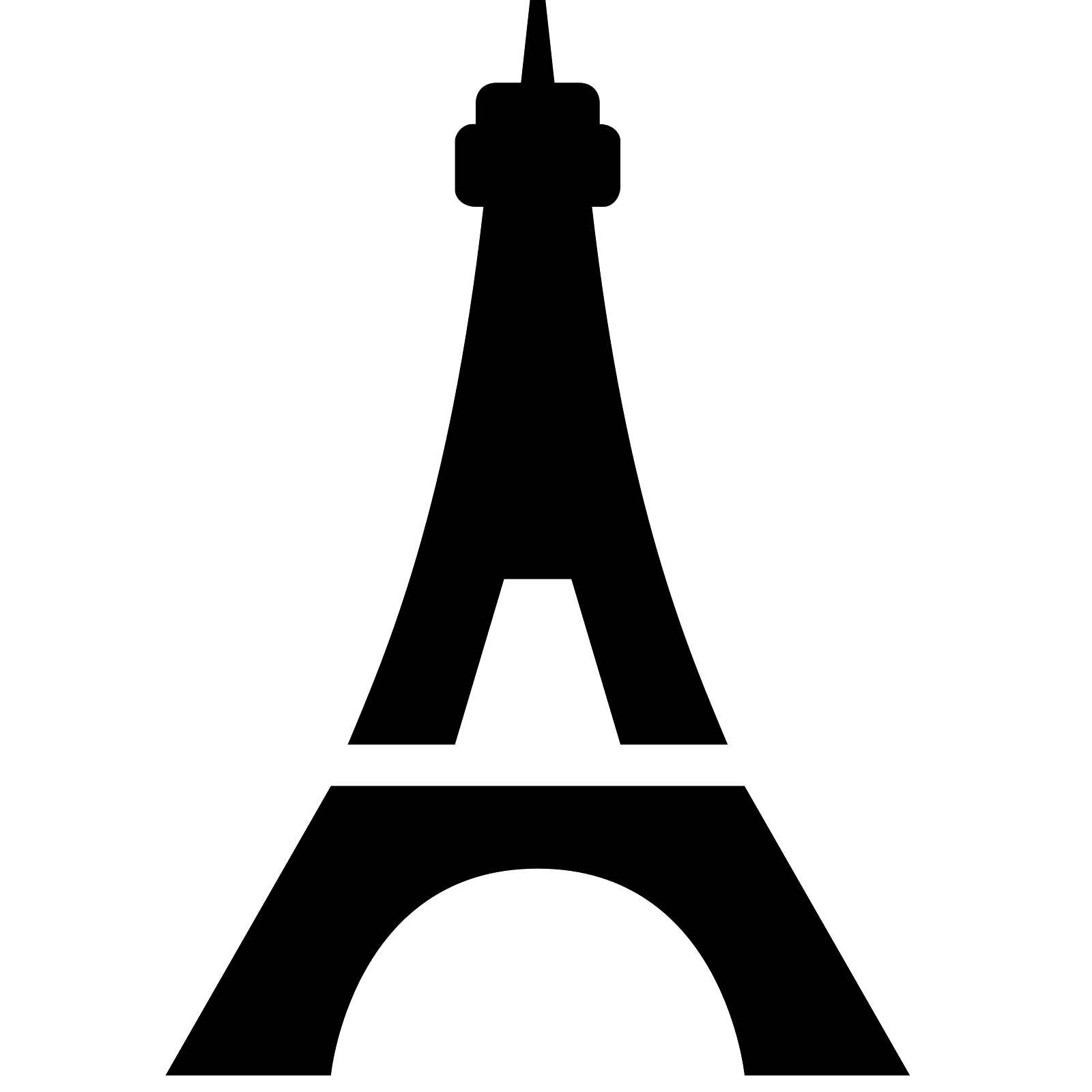 Eiffel tower heart clipart clipart free download Eiffel Tower Icon - free download, PNG and vector clipart free download