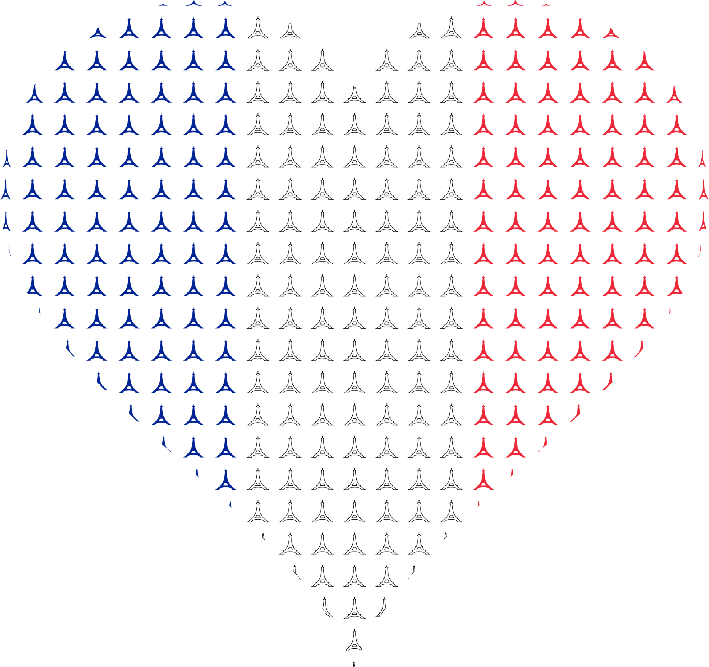 Eiffel tower heart clipart clipart freeuse download Clipart - Heart France Flag Eiffel Tower clipart freeuse download