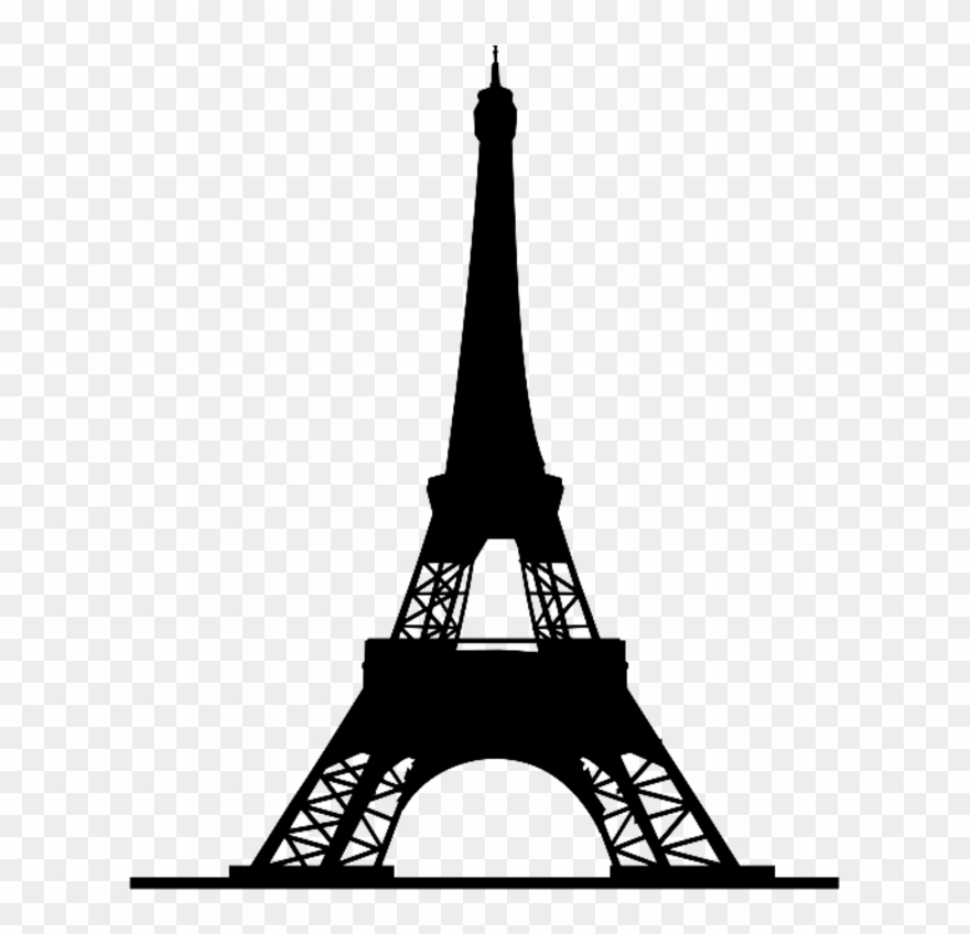Eiffel tower silhouette clipart svg free download Eiffel Tower Silhouette - Eiffel Tower Silhouette Png Clipart ... svg free download