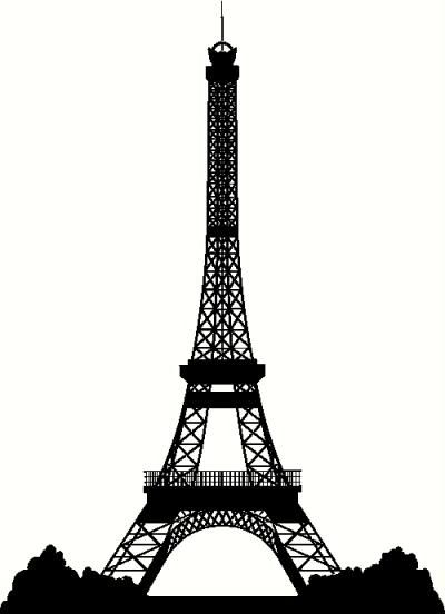 Eiffel tower silhouette clipart clipart free library Eiffel Tower Silhouette | Crafts | Eiffel tower silhouette, Tower ... clipart free library