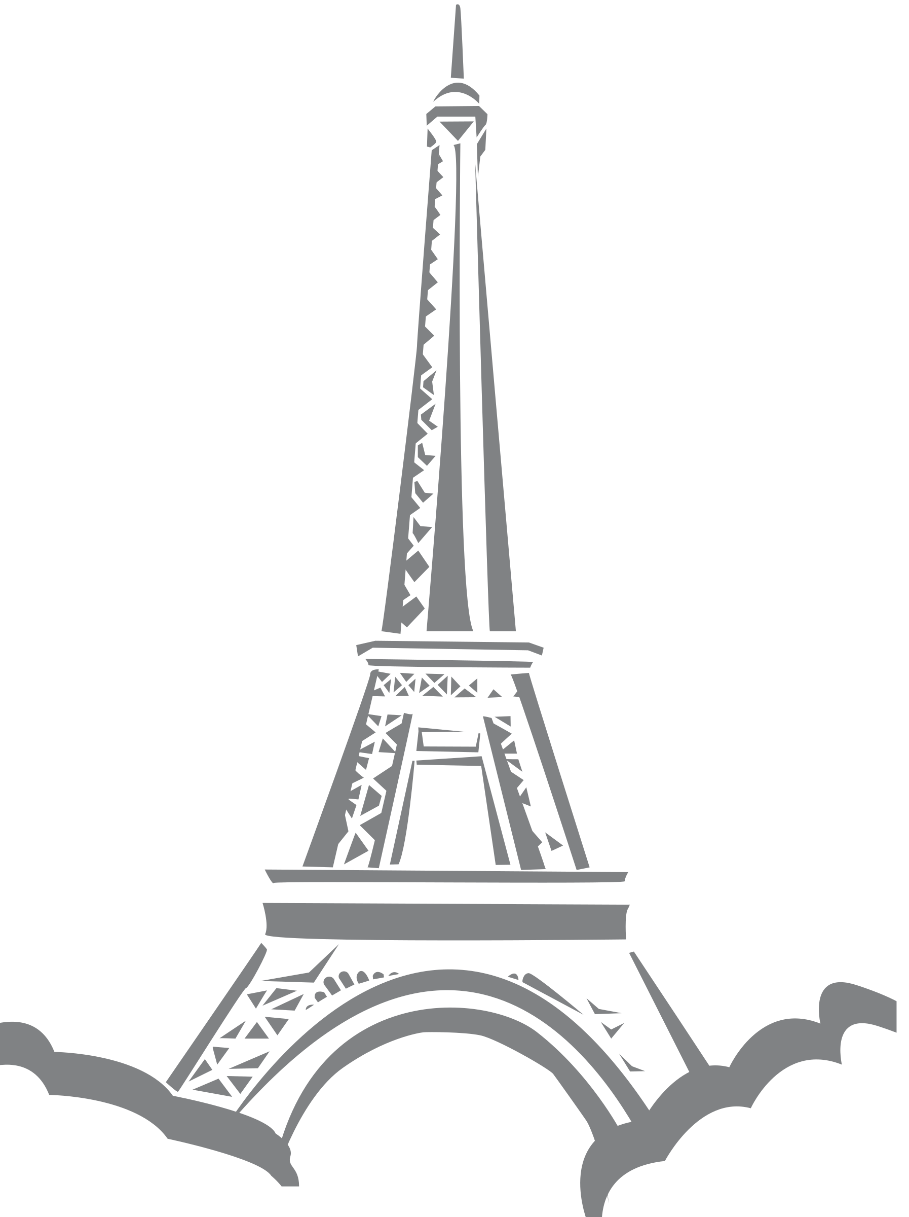 Eiffel tower with crown clipart banner transparent 28+ Collection of Eiffel Tower Clipart Png   High quality, free ... banner transparent