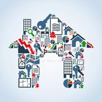 Ihr Eigenes Haus Immobilienservice stock-vektorgrafiken - Clipart.me clip library