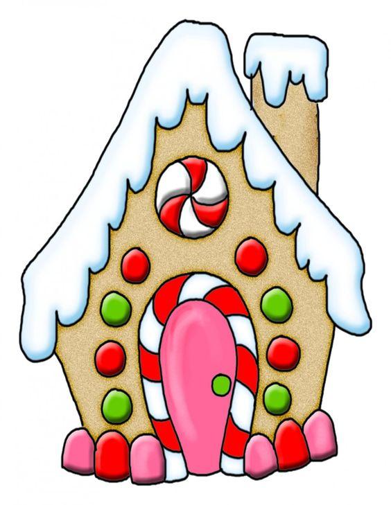 Gingerbread House-Digital Download-ClipArt-Art Clip ... clip art transparent