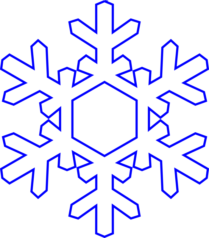 Eight section snowflake clipart free library FREE Snowflake Clipart Images & Photos Download【2018】 free library