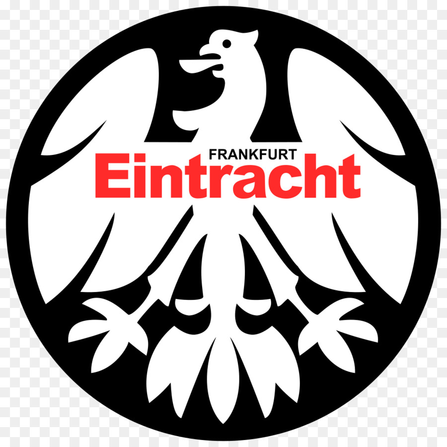 Eintracht frankfurt clipart banner black and white stock Football Cartoon clipart - Football, Emblem, Font, transparent clip art banner black and white stock