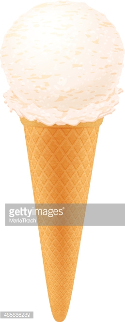 Eis in der waffel clipart png royalty free download Vanille Eis IN Der Waffel premium clipart - ClipartLogo.com png royalty free download
