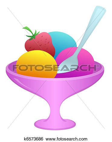 Eisbecher cliparts kostenlos banner library stock Clipart of Ice-cream in a vase k6442460 - Search Clip Art ... banner library stock