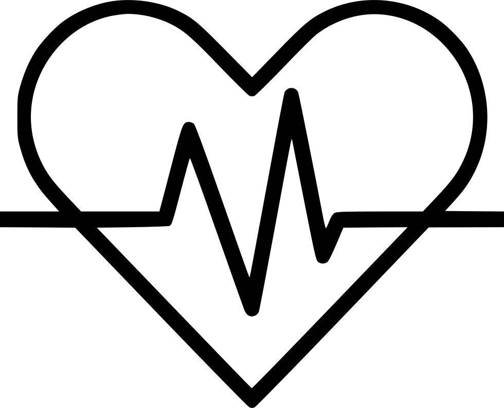 Heart with ekg line clipart clip art library library Heart Signal Ekg Electrocardiography Svg Png Icon Free Download ... clip art library library