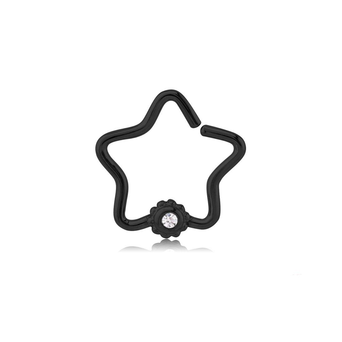 El morro clipart svg royalty free download Amazon.com: El Morro Body Piercing Jewelry Black Surgical Steel Open ... svg royalty free download