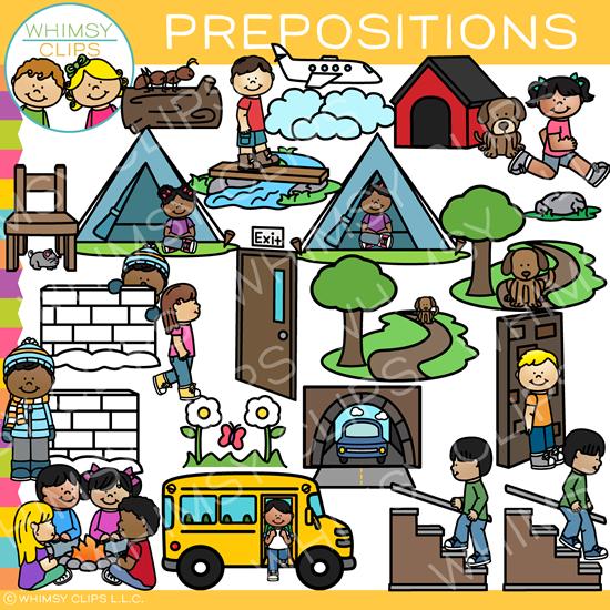 Ela motors clipart clip royalty free download ELA Prepositions Clip Art clip royalty free download