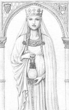 Eleanor of aquitaine clipart