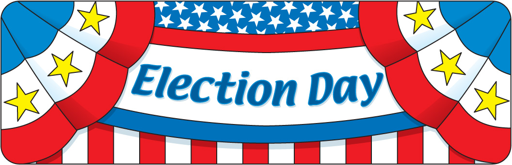 Vote banner clipart clip art library 95+ Election Day Clipart | ClipartLook clip art library