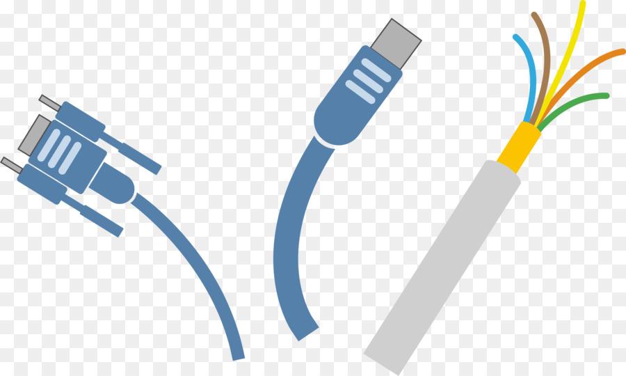 Electrical cable clipart image transparent Network Cartoon png download - 2400*1439 - Free Transparent ... image transparent