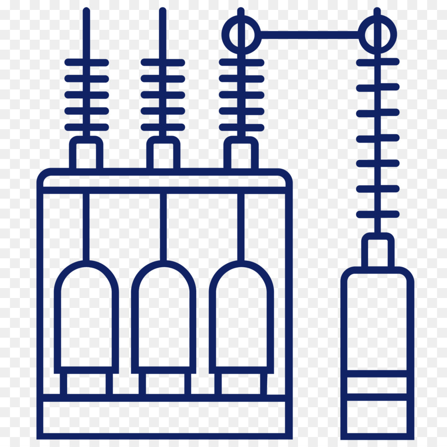 Electrical substation clipart