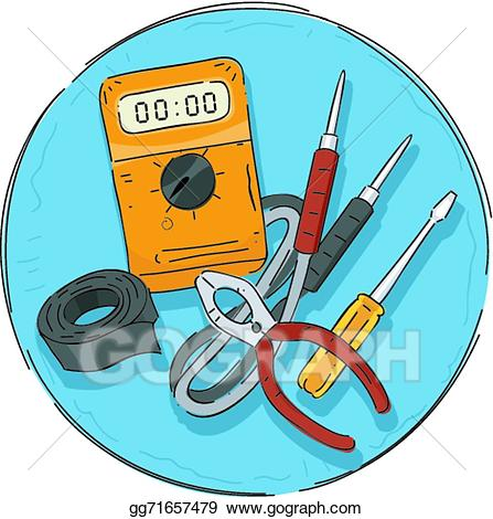 Electrical tools clipart graphic free stock Vector Illustration - Electrical tools icon. EPS Clipart gg71657479 ... graphic free stock