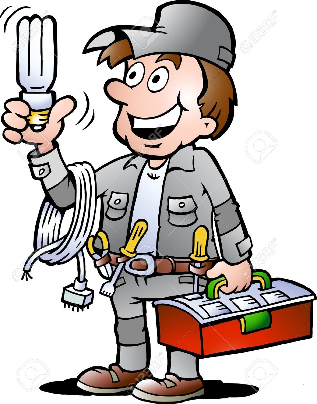 Electrician clipart image image freeuse download Free electrician clipart 6 » Clipart Station image freeuse download