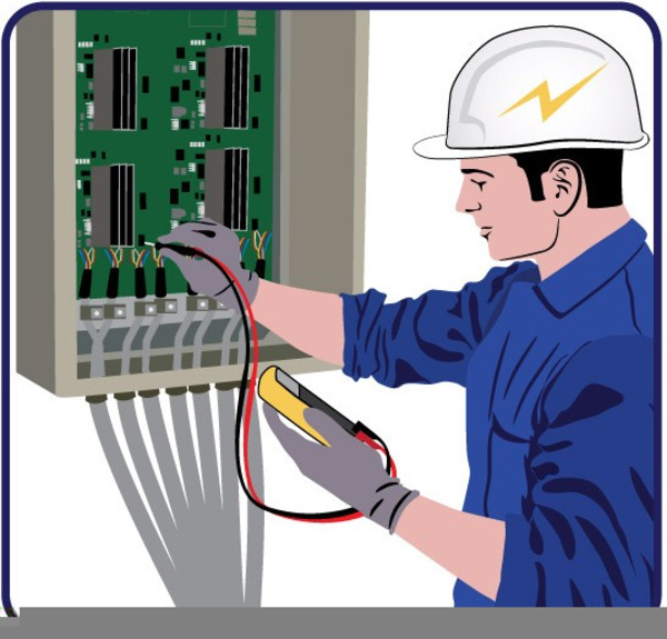 Electrician clipart image graphic royalty free stock Free Clipart For Electricians | Free Images at Clker.com - vector ... graphic royalty free stock