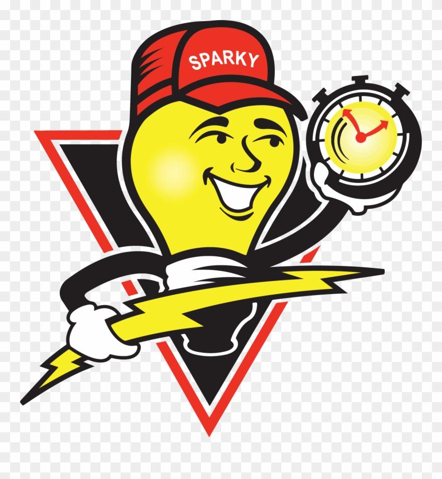 Electrician logo clipart svg Electrician Clipart Hvac Technician - Mister Sparky Logo - Png ... svg