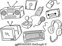 Electronic clipart images clip art stock Electronic Devices Clip Art - Royalty Free - GoGraph clip art stock