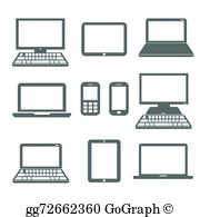 Electronic device clipart banner Electronic Devices Clip Art - Royalty Free - GoGraph banner
