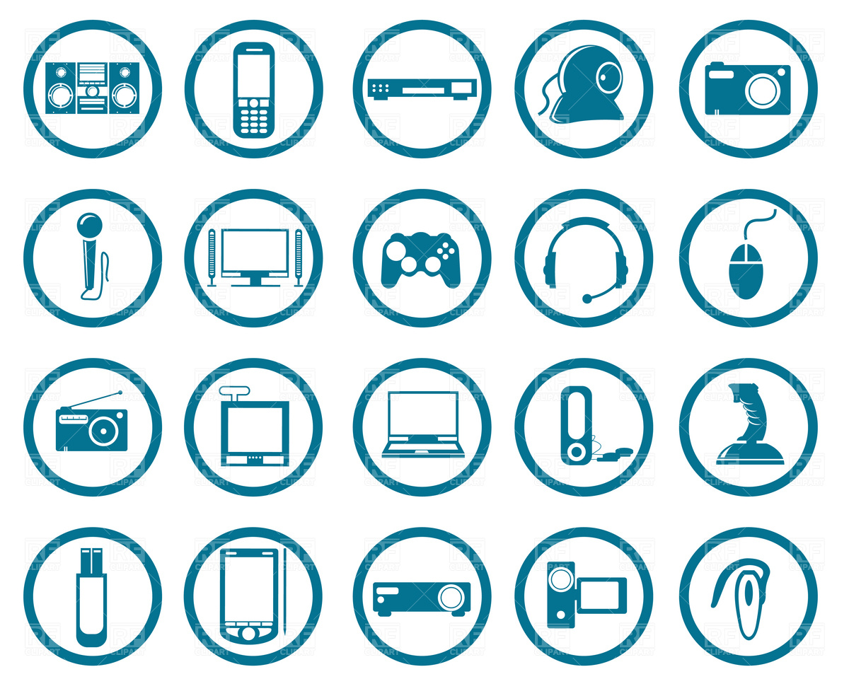 Electronics clip art svg black and white stock Electronics Clipart | Free Download Clip Art | Free Clip Art | on ... svg black and white stock