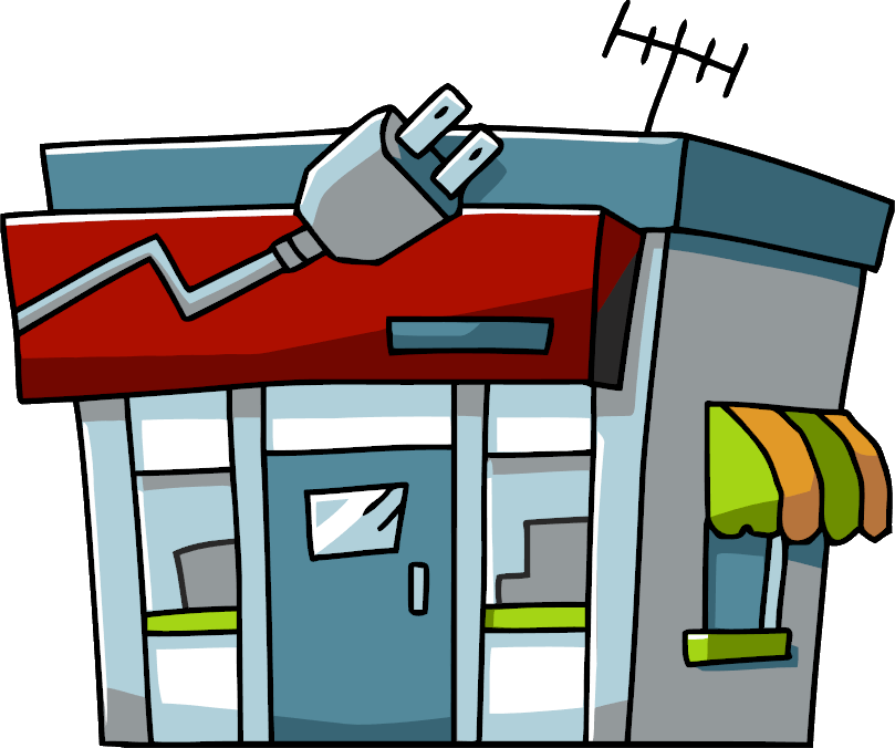 Image - Electronics Store.png | Scribblenauts Wiki | FANDOM powered ... graphic library