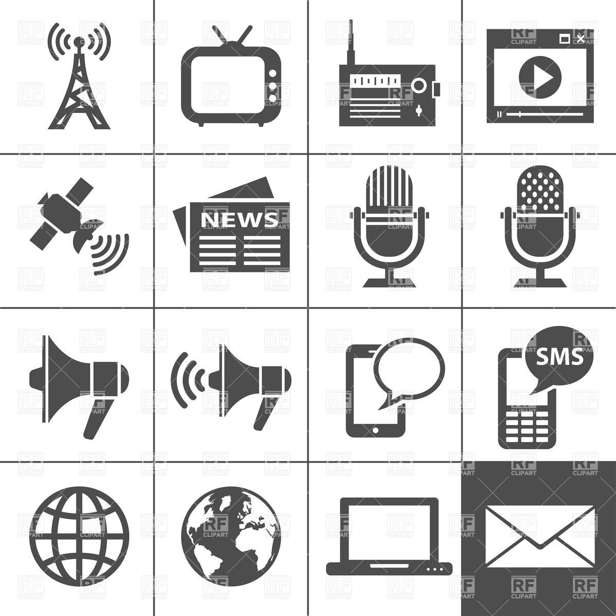 Electronics clipart free clip art royalty free download Home Electronics Icons Download Royalty Free Vector Clipart Eps ... clip art royalty free download