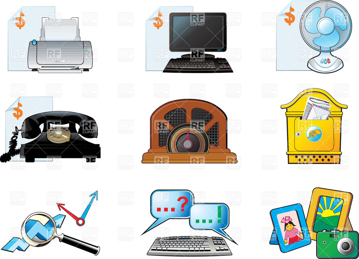 Electronics clipart free vector freeuse stock Electronics Clipart - Clipart Kid vector freeuse stock